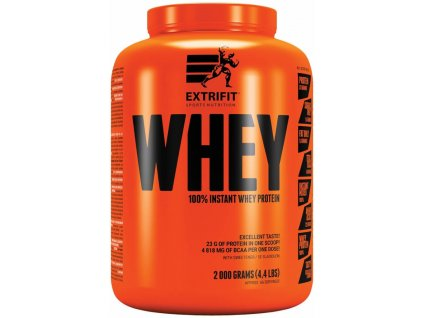 Extrifit 100% Whey Protein 2000g (Obsah 2000 g, Příchuť vanilka)