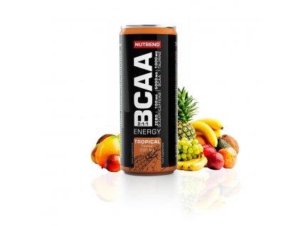 Nutrend BCAA energy 330ml (Obsah 330 ml, Příchuť tropical)
