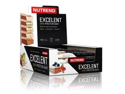 Nutrend Excelent 18 x 85 g proteinová tyčinka (Obsah 85 g, Příchuť curuba)