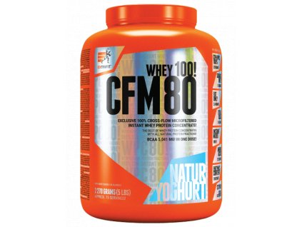 EXTRIFIT CFM Instant Whey 80 (Obsah 2270 g, Příchuť vanilka)