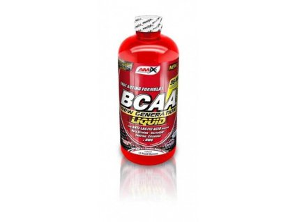 AMIX BCAA New Generation liquid (Obsah 1000 ml, Příchuť red raspberry)