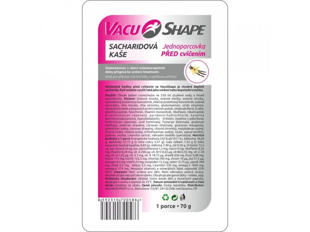 sacharidova kase vacushape