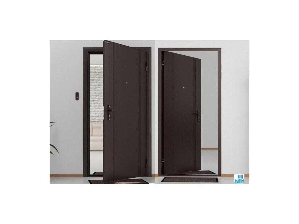 Vchodové dveře DoorHan Antracit
