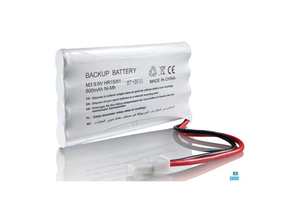 somfy zalozni baterie