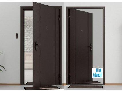 Technické vchodové dveře DoorHan Antracit