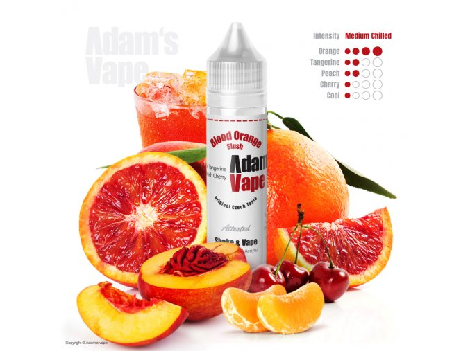 Adams Vape Blood Orange Slush