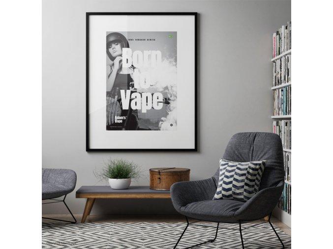 Adams Vape True Tobacco Series Poster NO2 03