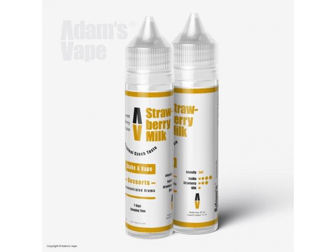 Adams Vape Strawberry Milk