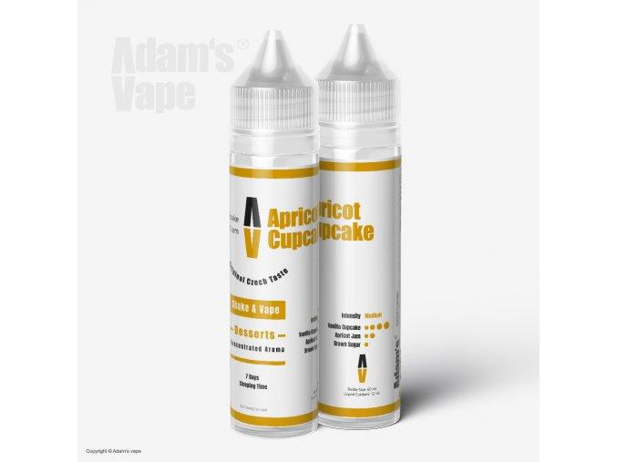 Adams Vape Apricot Cupcake