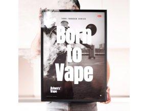 Adams Vape True Tobacco Series Poster NO1 02