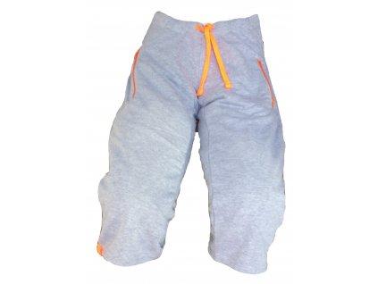 šortky oranž