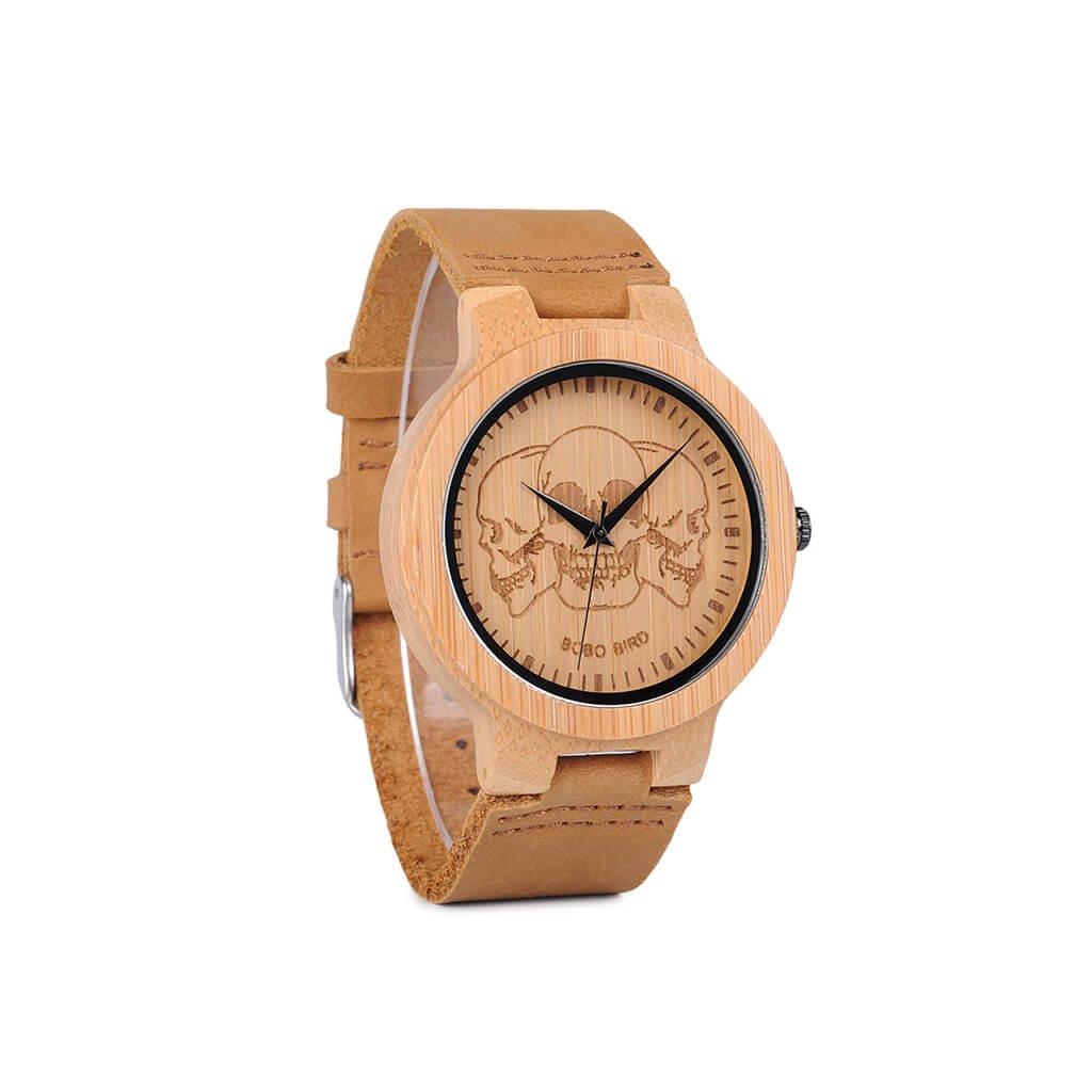Drevené hodinky Thibauld