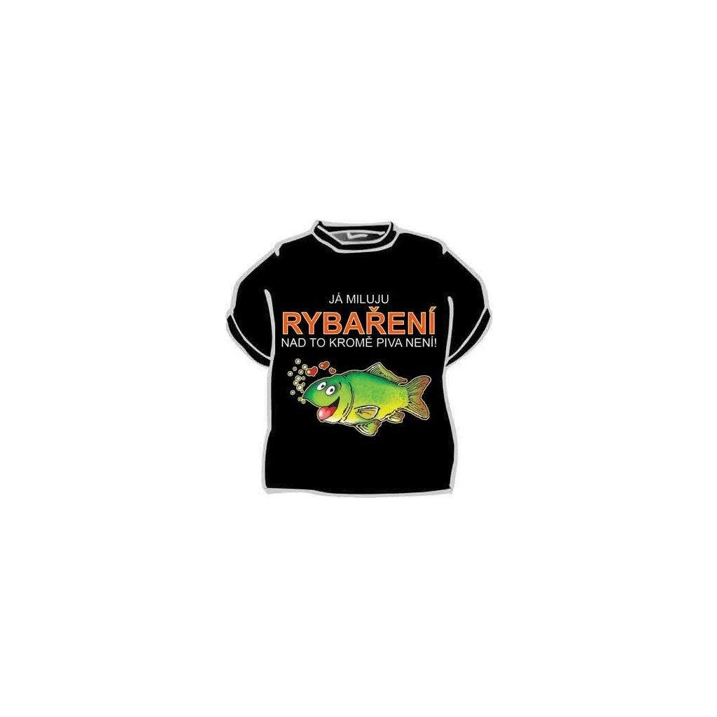Tričko - Já miluju rybaření - veľ. XXL
