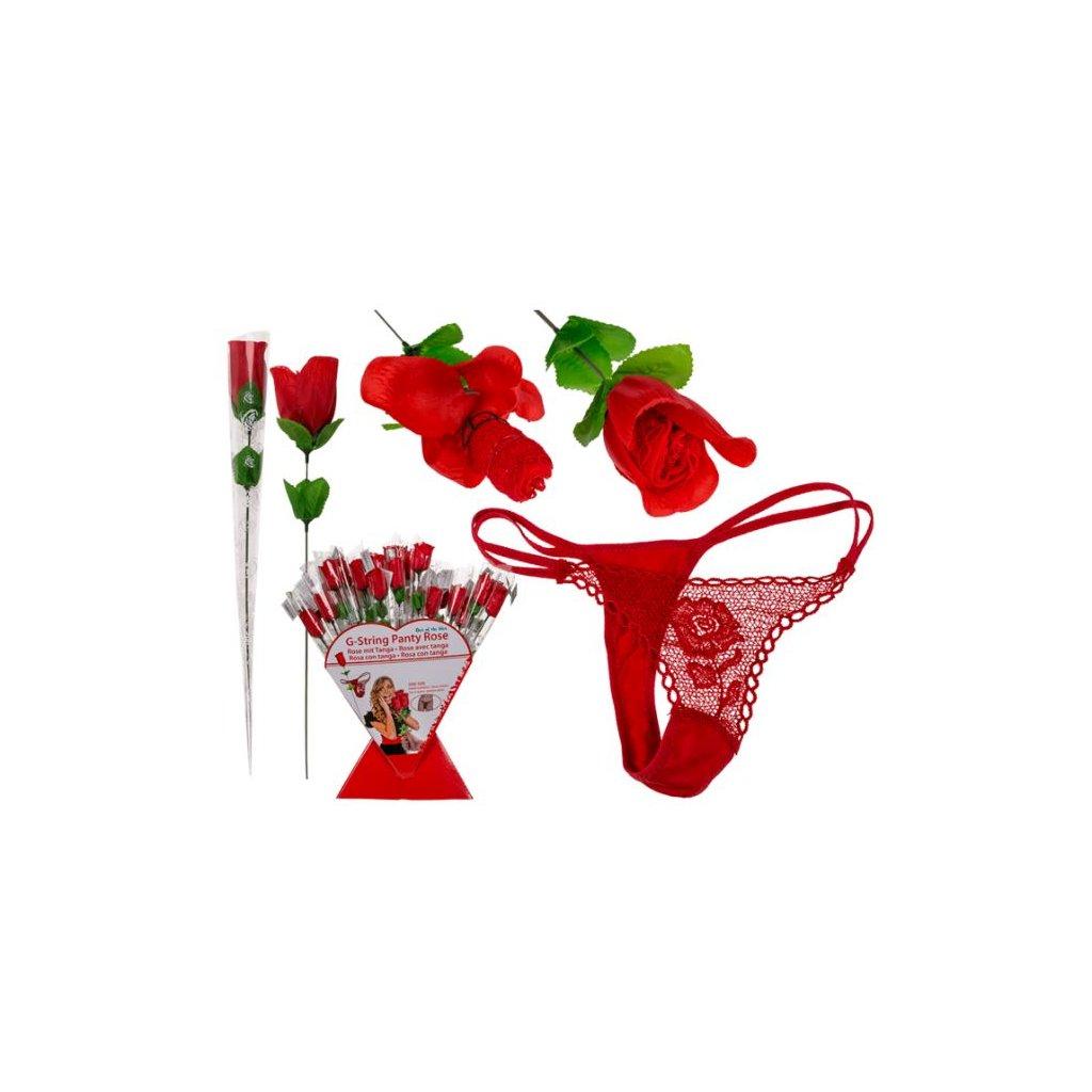 Nohavičky v ruži