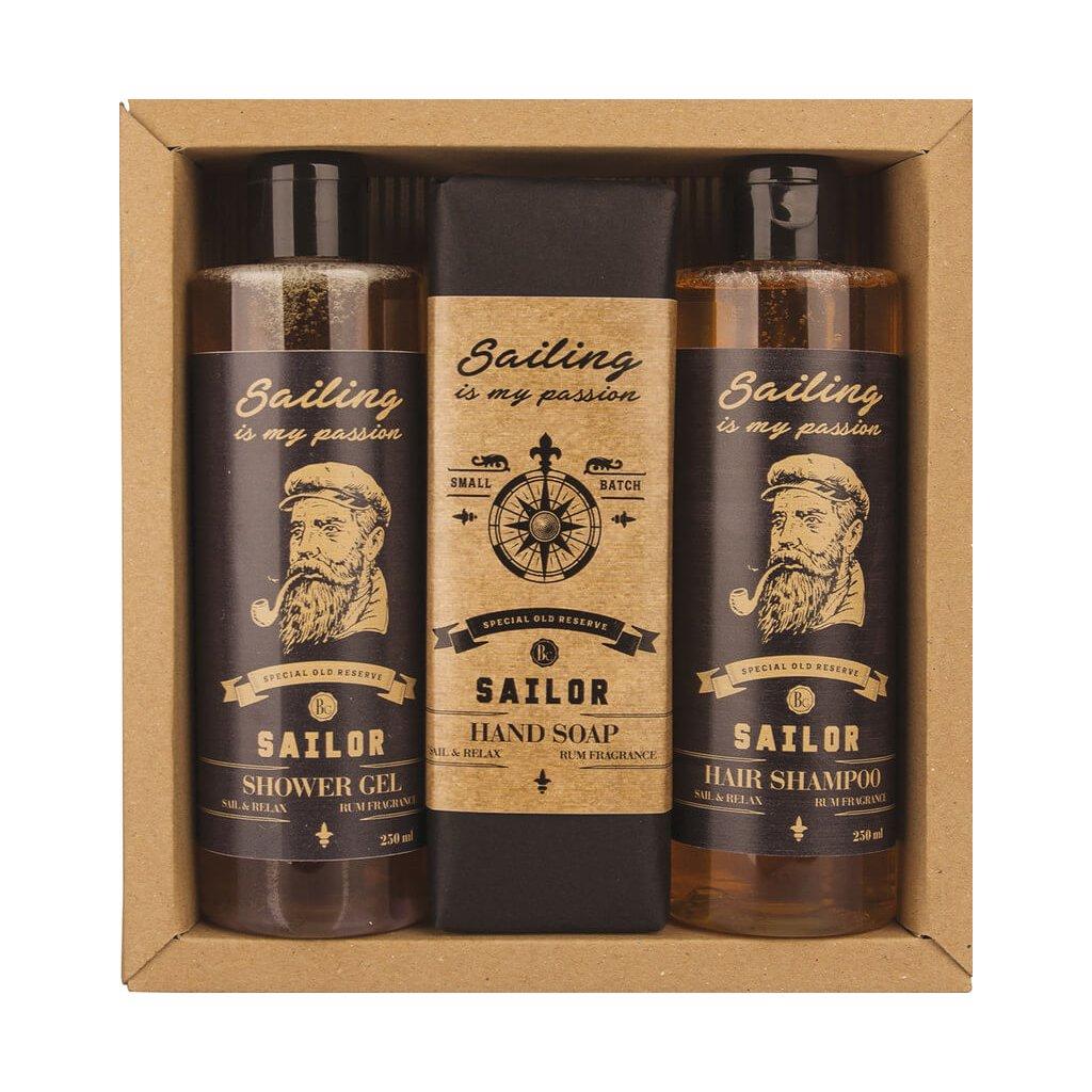 Kozmetický balíček pre gentlemanov