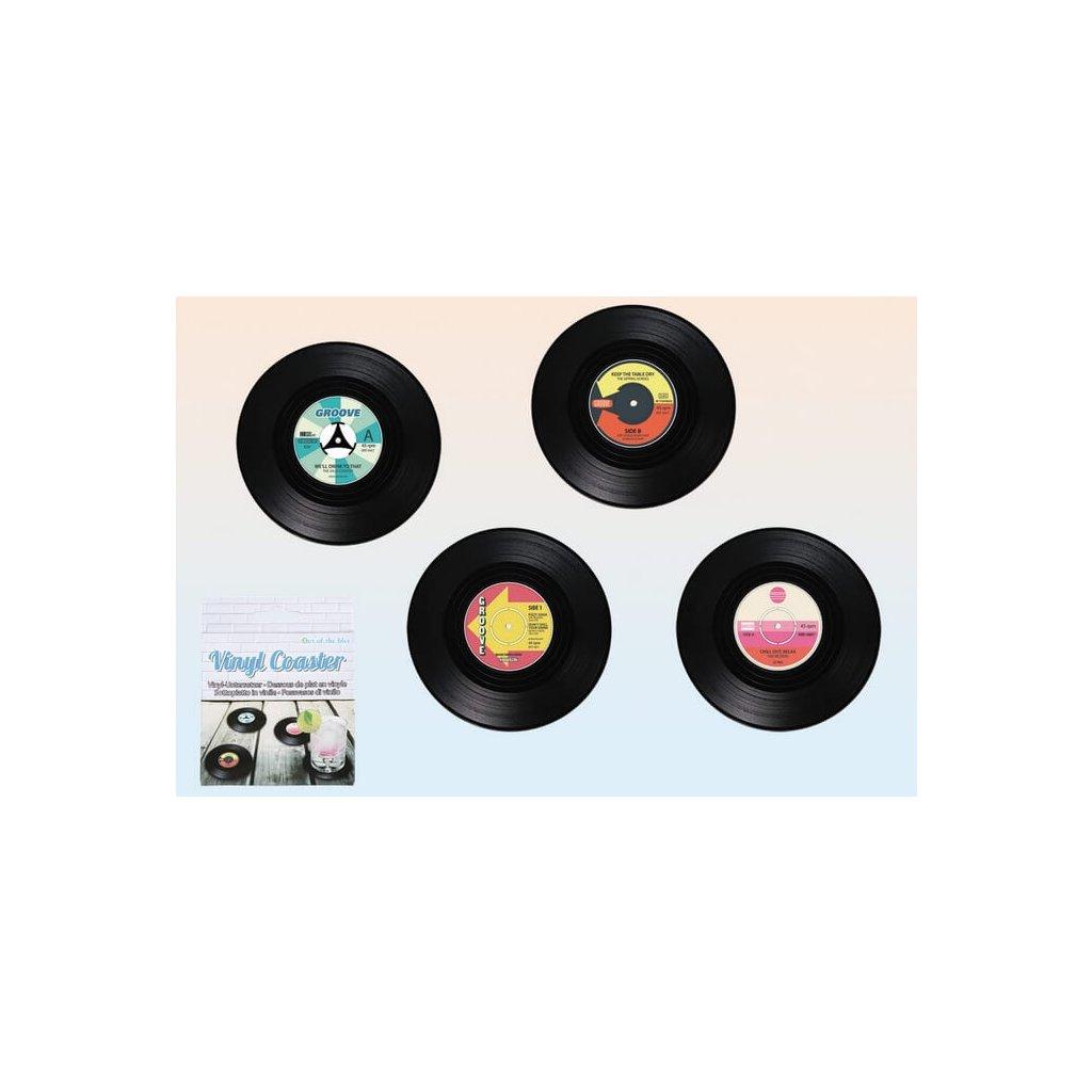 Vinylové pivní tácky