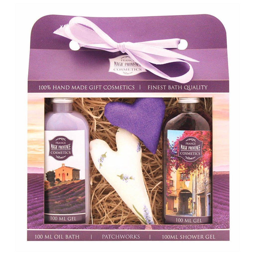Darčekový balíček – Levanduľové srdiečka