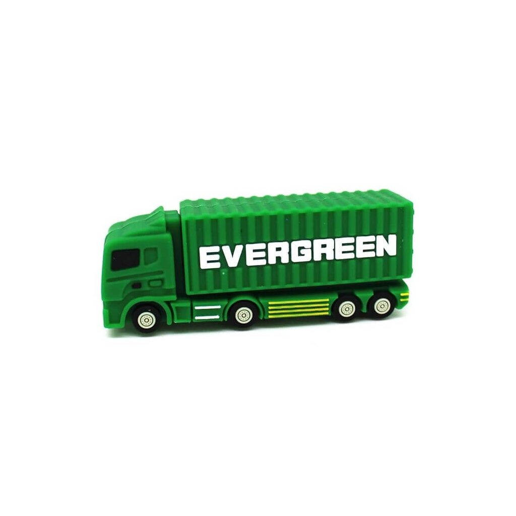 USB flash disk náklaďák 32 GB - zelený