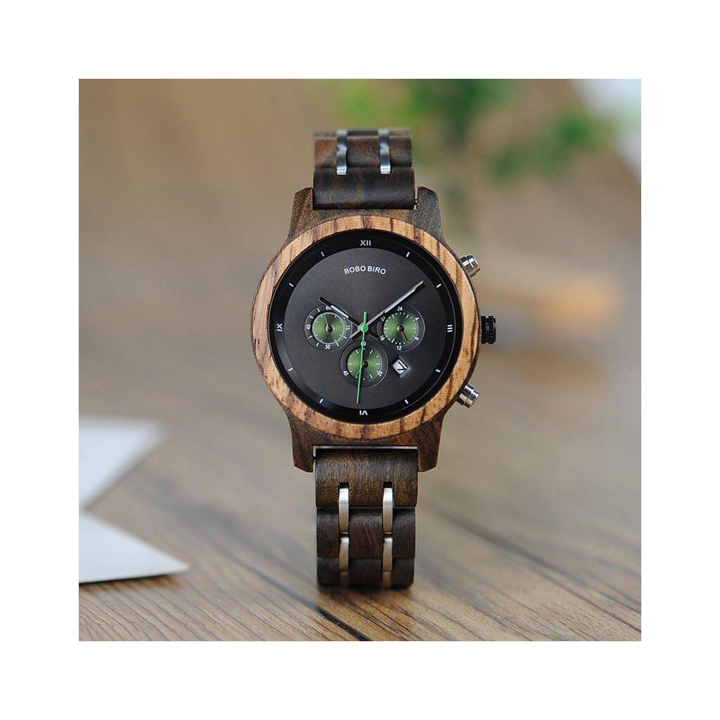 Drevené hodinky Julien