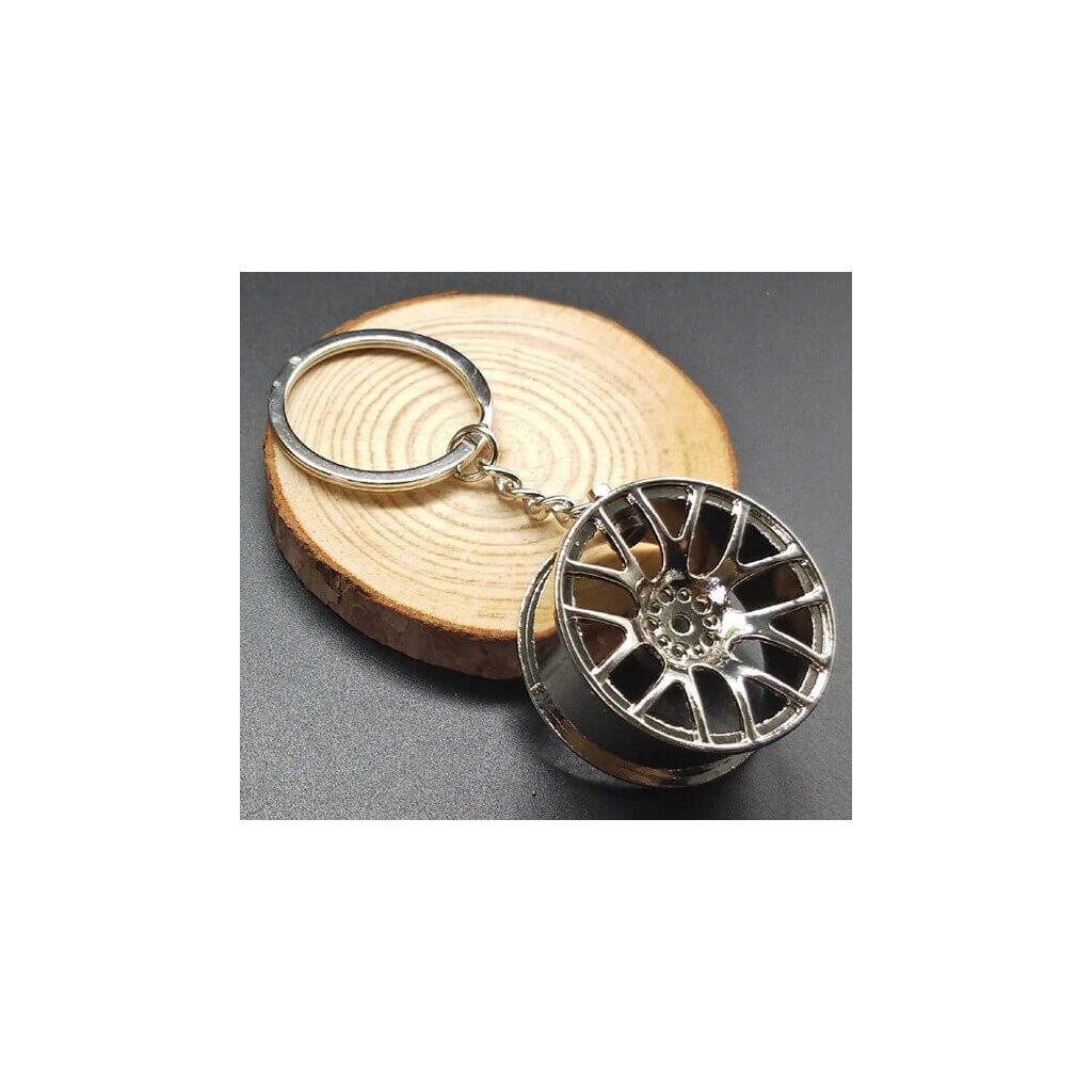 Přívěšek na klíče ALU disk kolo