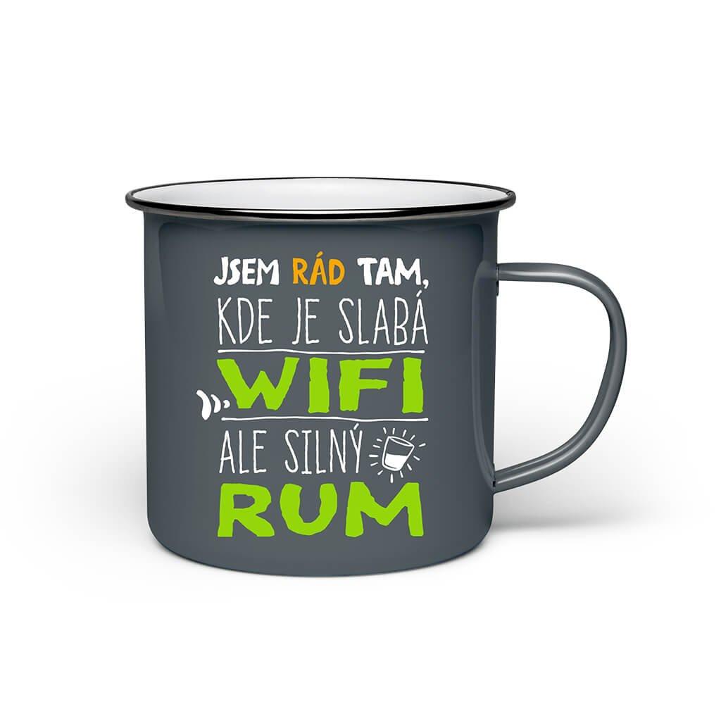 Mini plecháček - Rum