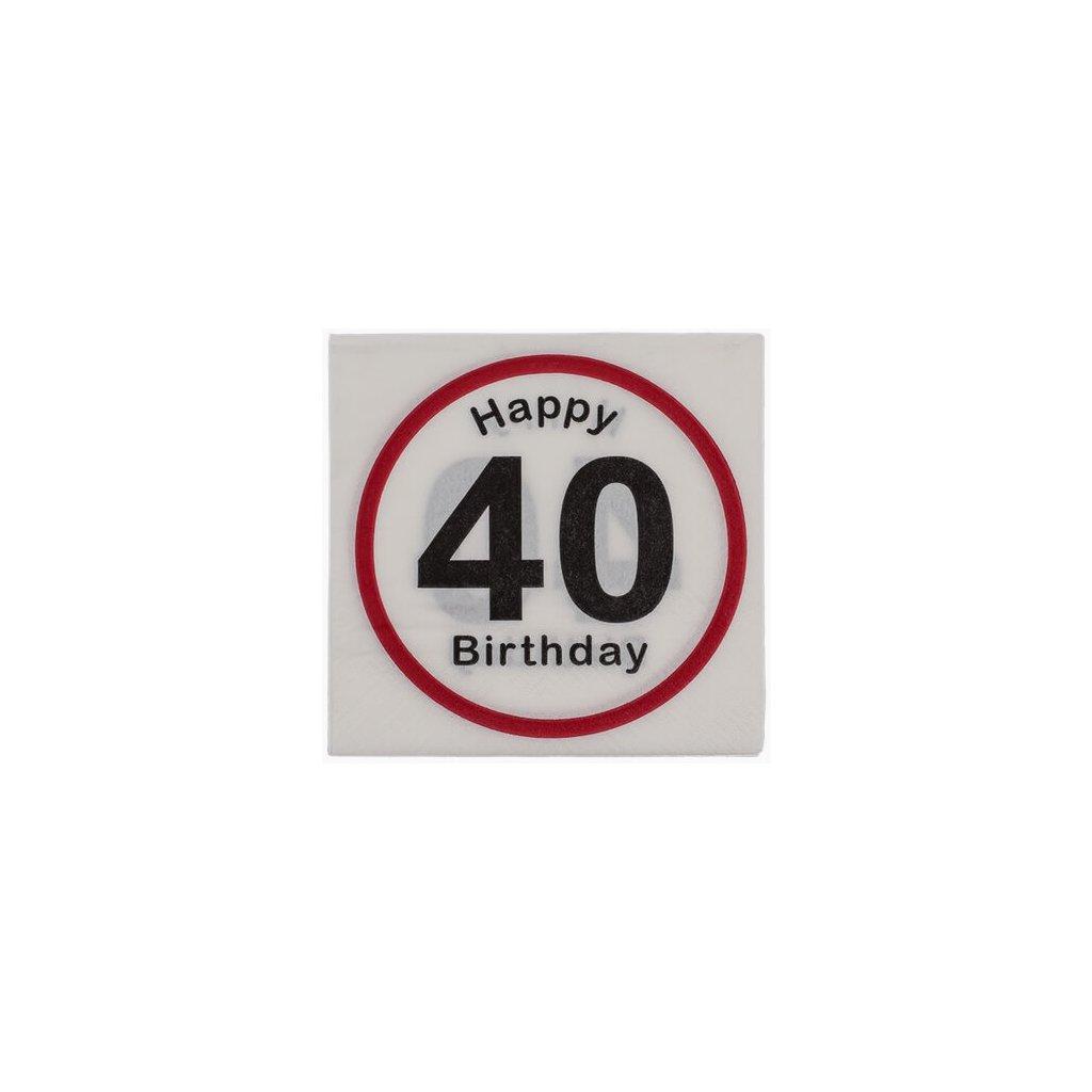 Narodeninové obrúsky 40