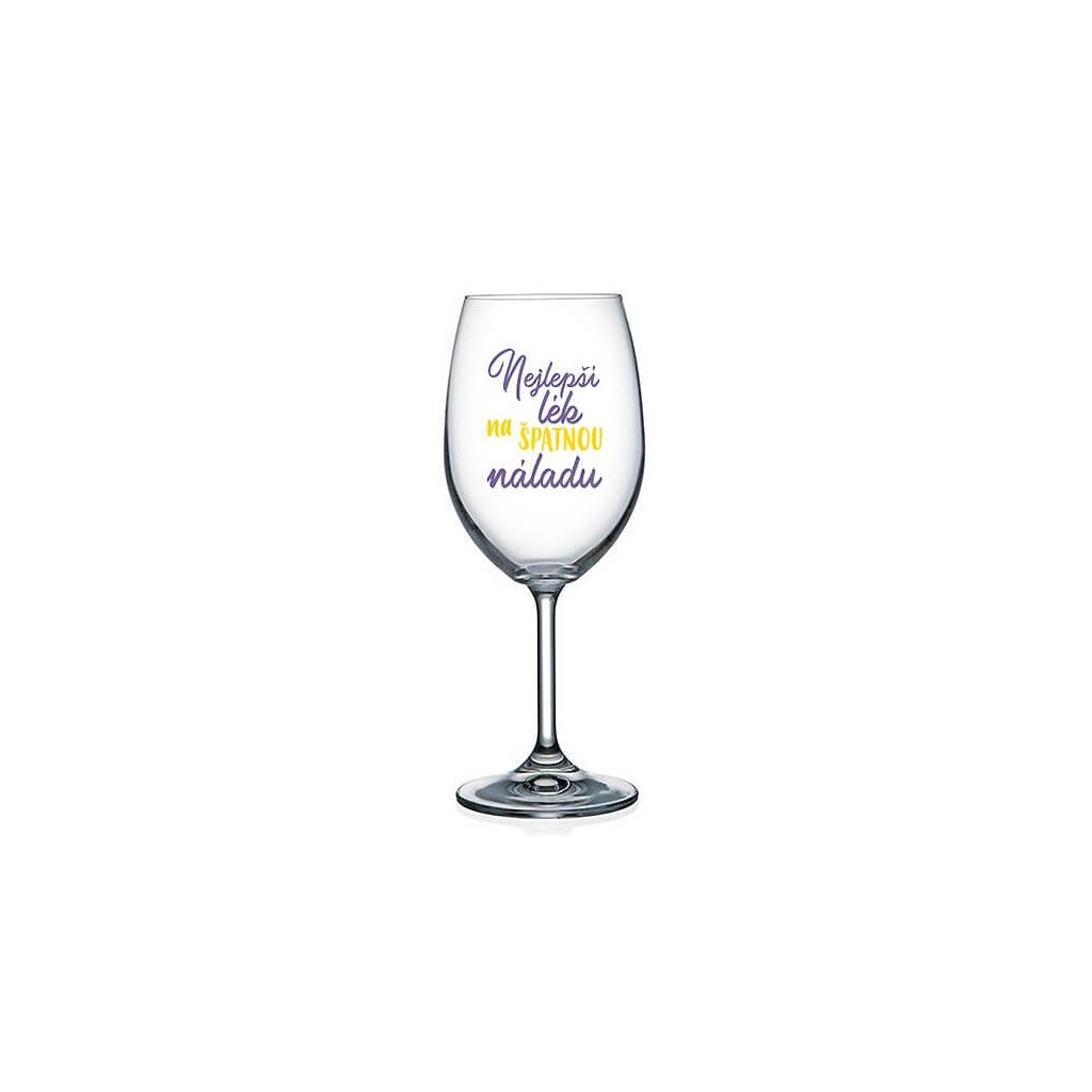 Sklenička na víno - Nejlepší lék