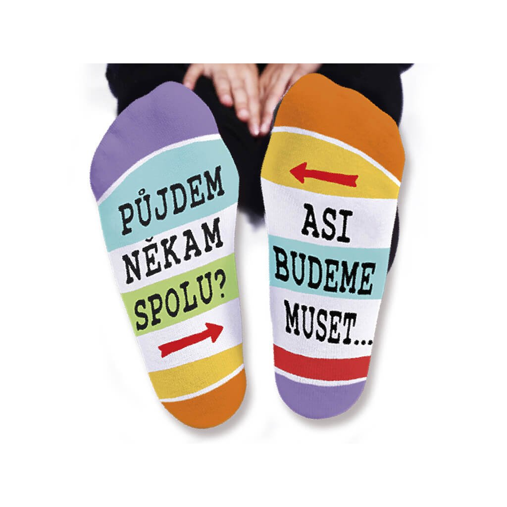 Pánske ponožky – Pôjdeme niekam spolu