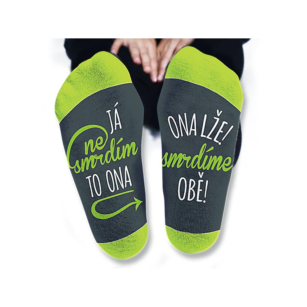 Pánské ponožky - Já nesmrdím