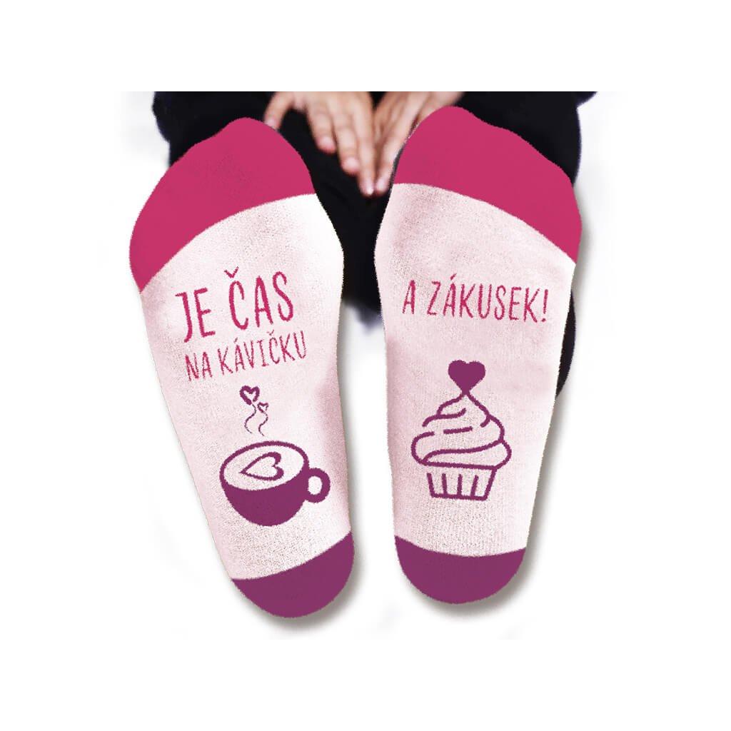 Dámske ponožky – Čas na kávičku