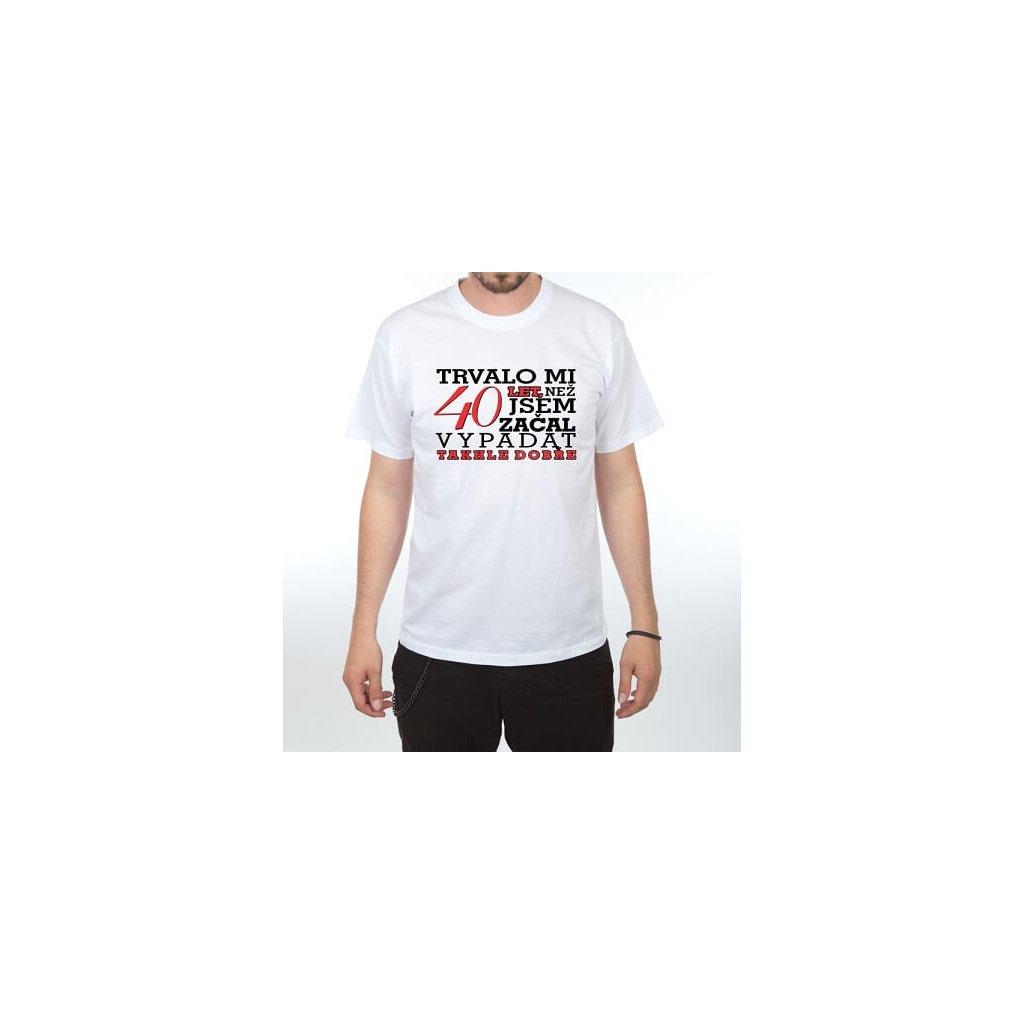 Pánske tričko – Trvalo mi 40 rokov, veľ. L