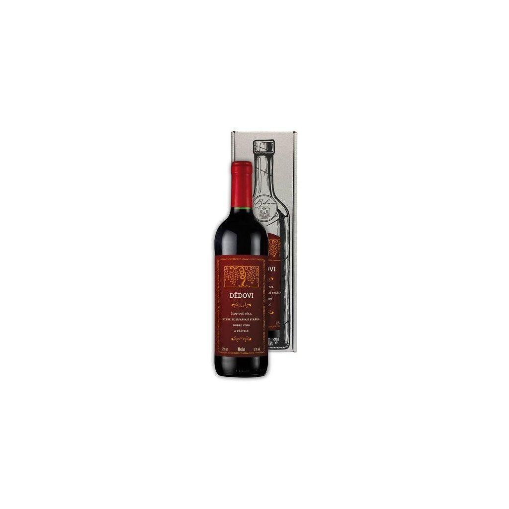 Darčekové víno pre dedka