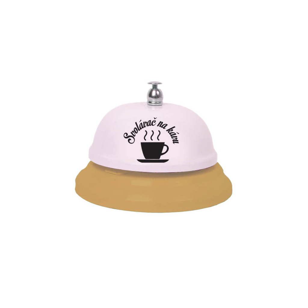 Zvonček zvolávač na kávu