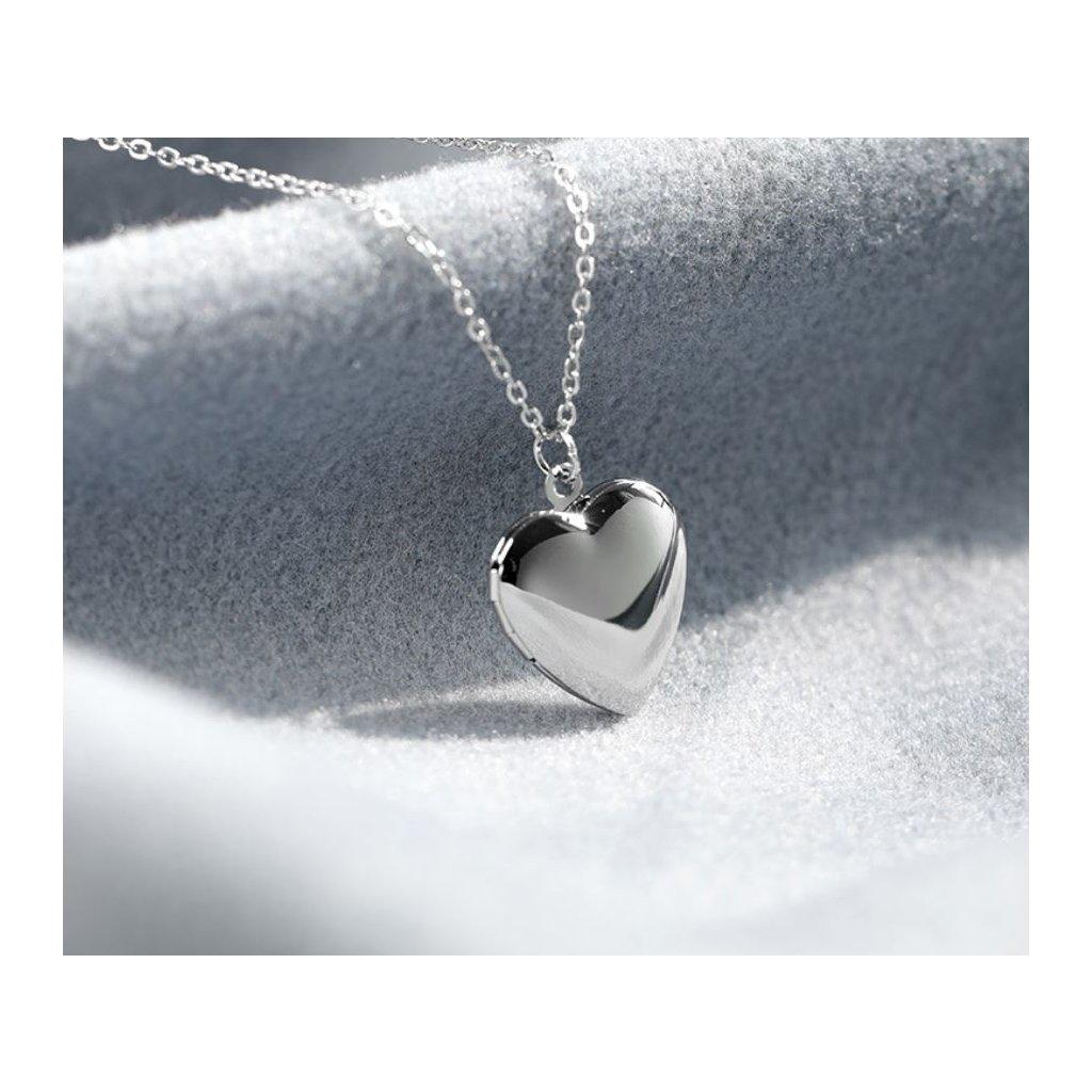 Mini otváracie medailóny, srdce
