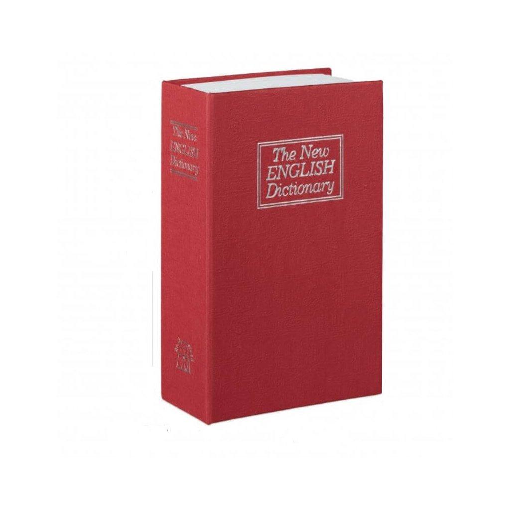 Trezor v knize červený