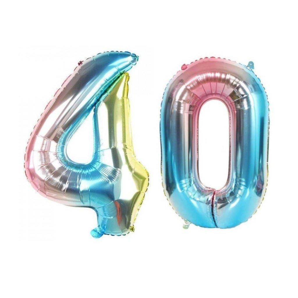 Narozeninové balónky 40