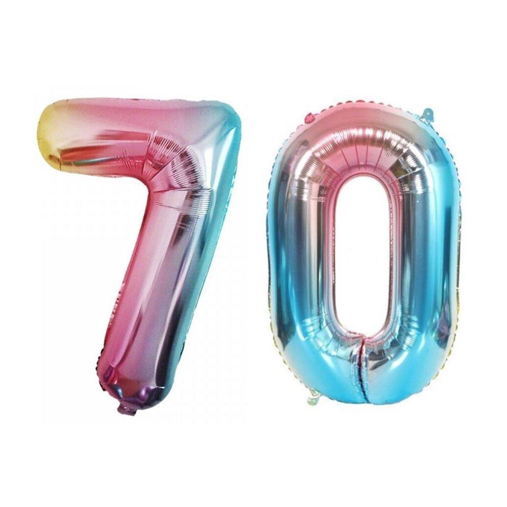 Narodeninové balóniky 70