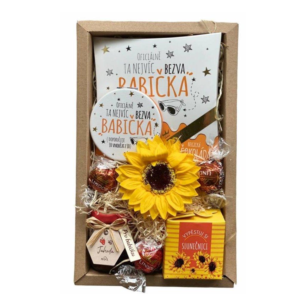Darčekový balíček pre babičku