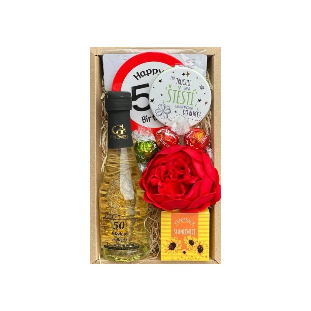Darčekový balíček pre ženy 50