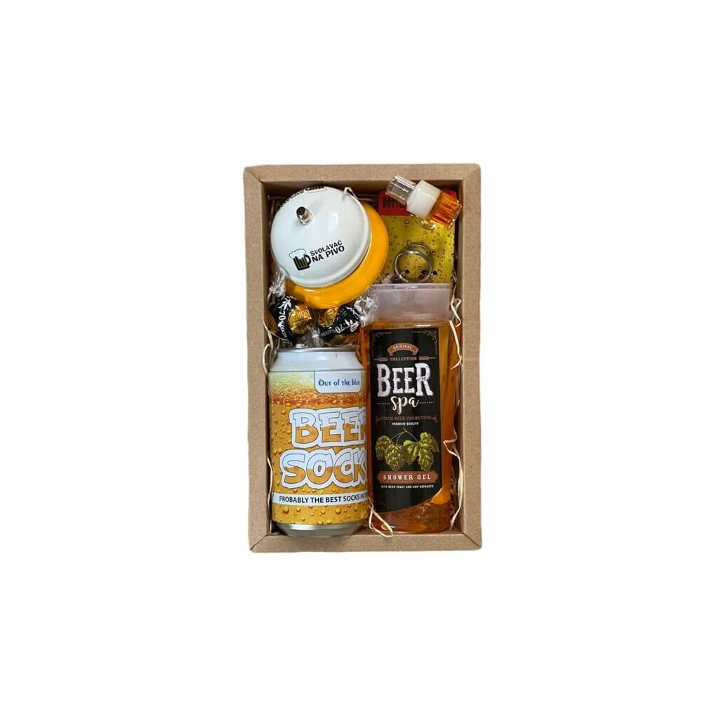Pivní dárkový balíček