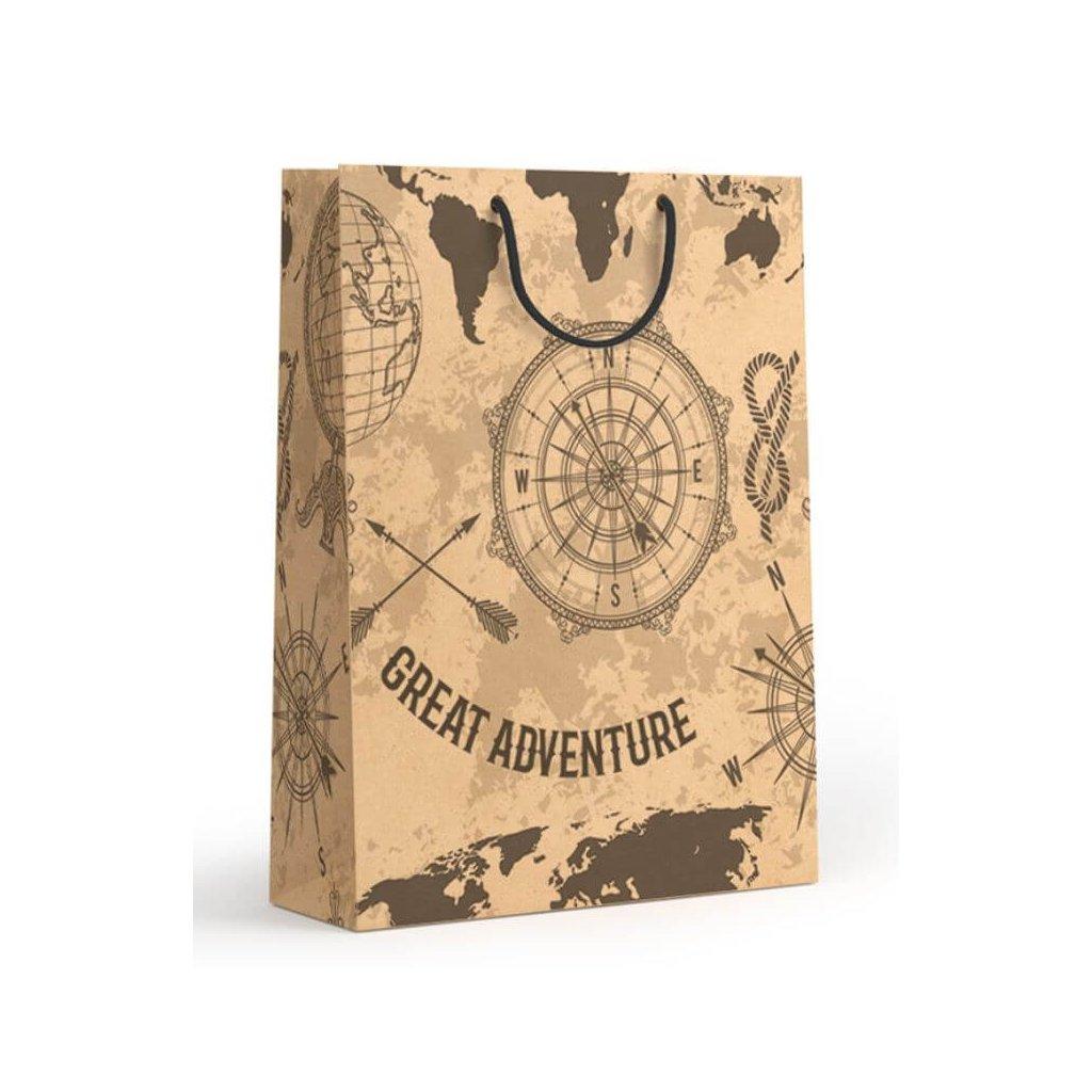 Darčeková taška, veľká, Kompas