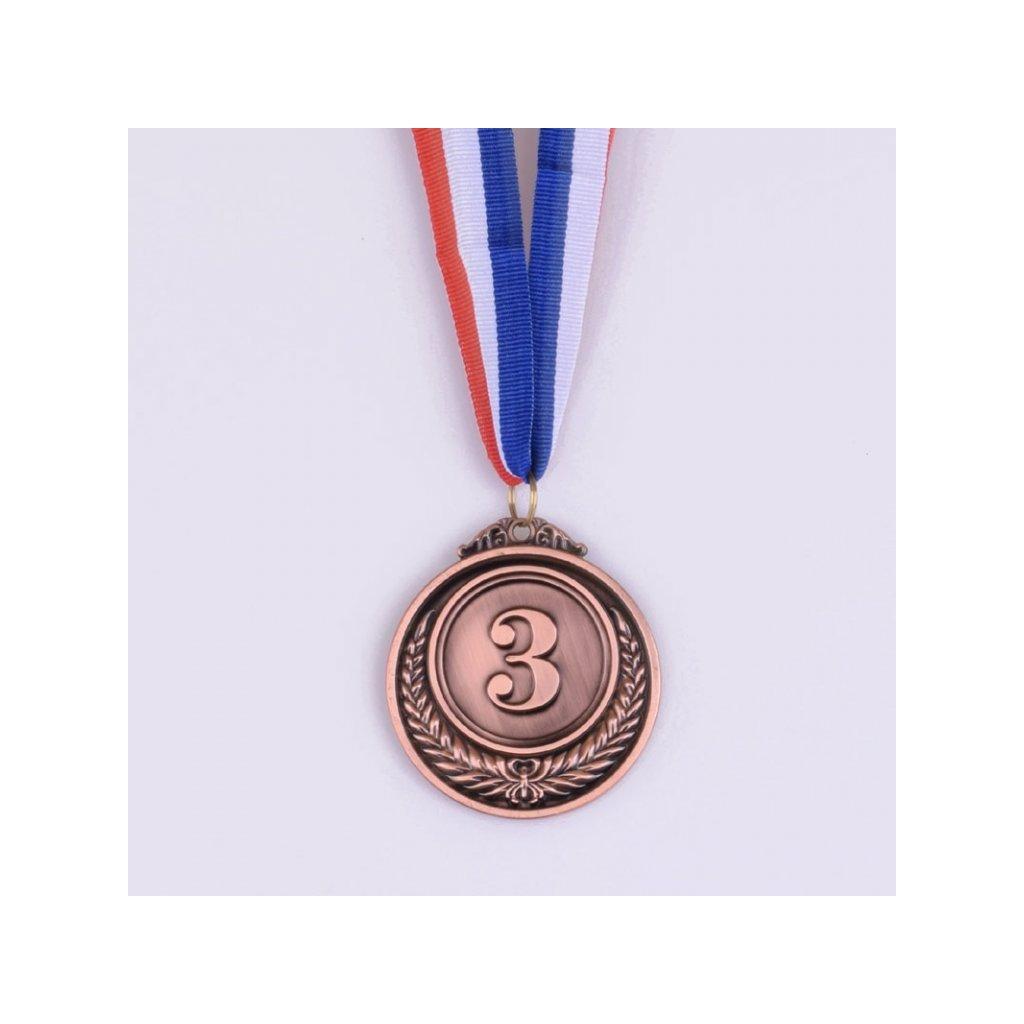 Kovová medaile - 3. místo