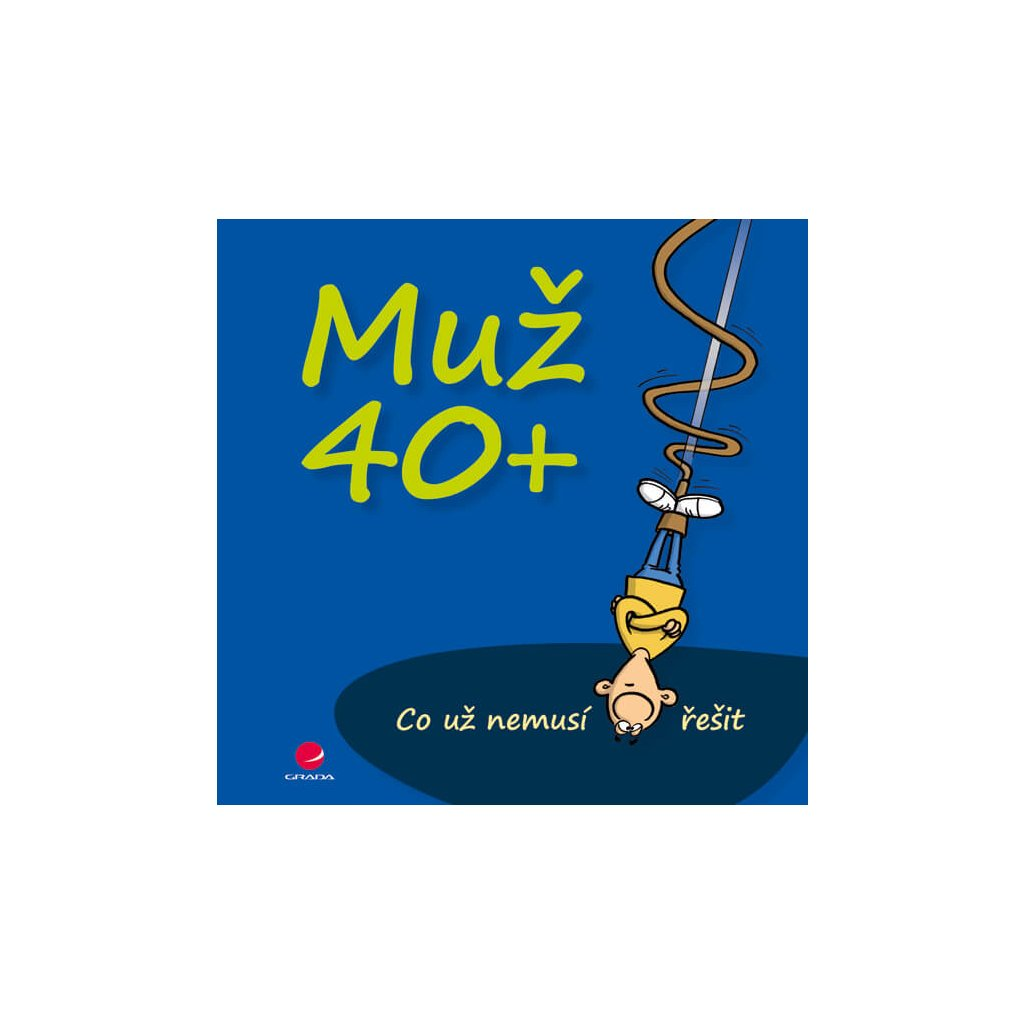 Kniha muž 40