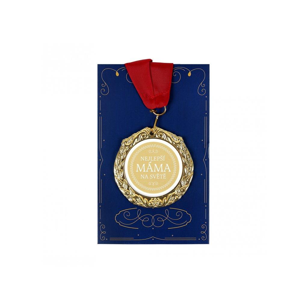 Přání s medailí - Nejlepší máma