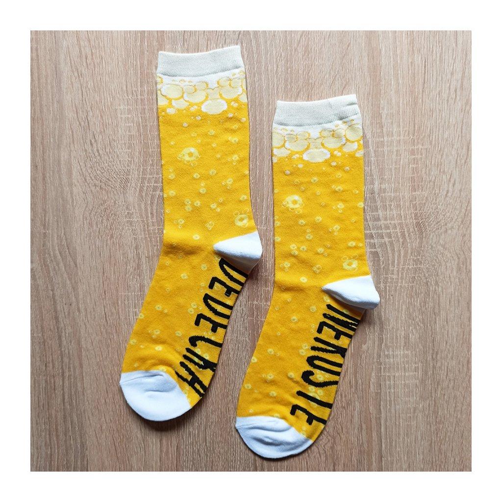 Veselé ponožky Nerušte dědečka