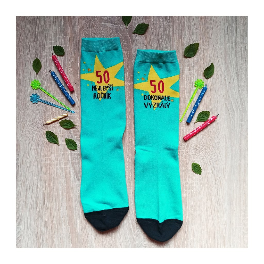Veselé ponožky 50 nejlepší ročník