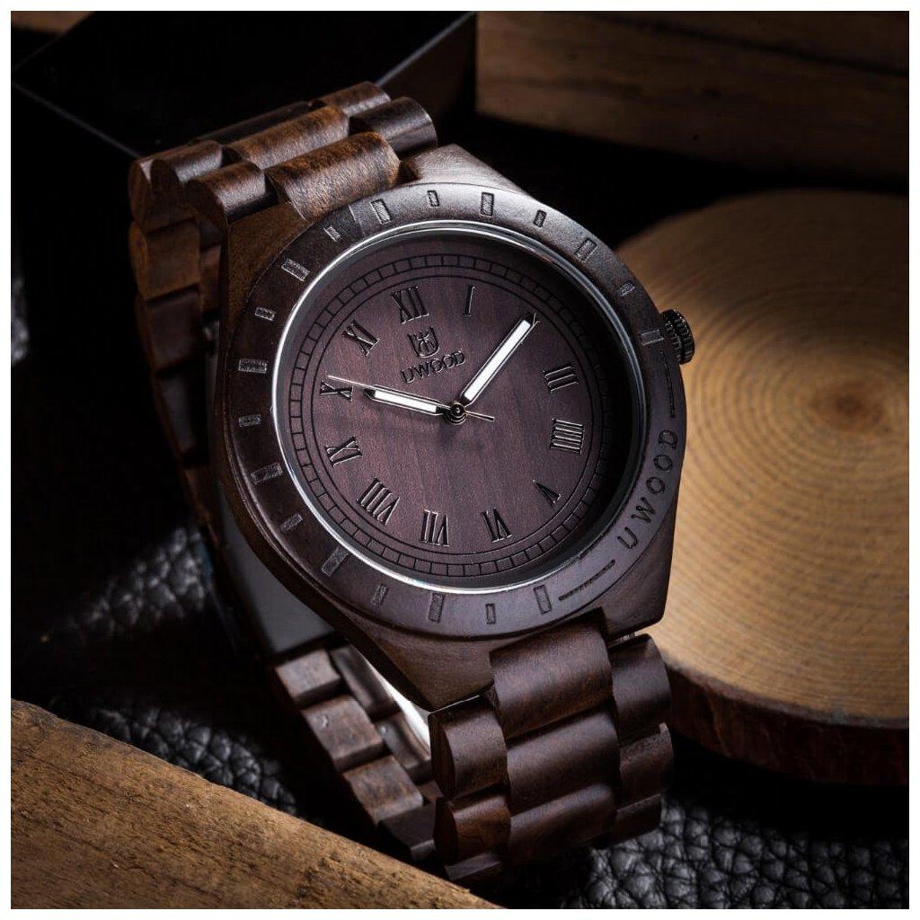 Drevené hodinky Jacques