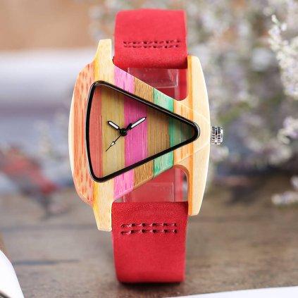 Drevené hodinky Anastasia