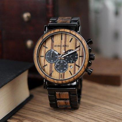 Drevené hodinky Jerome