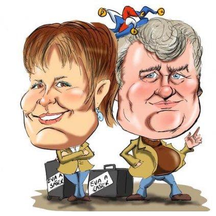 Karikatúra pre dvoch H02